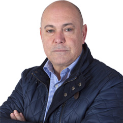 Pedro Molina, representante de TISOC en Murcia